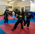 Kids class, learning to enjoy exercise